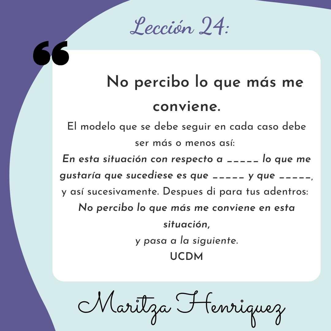 UCDM Lecion 24