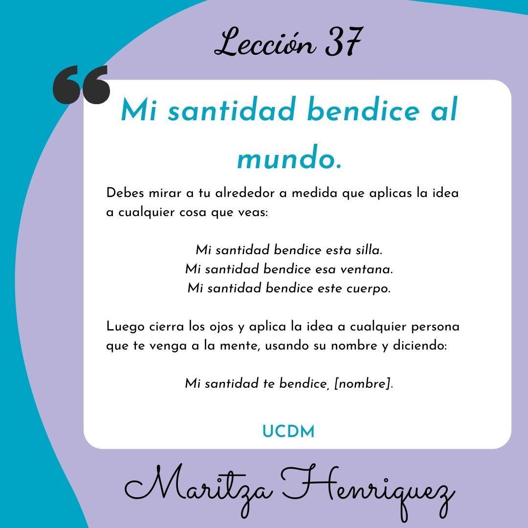 UCDM Leccion 37