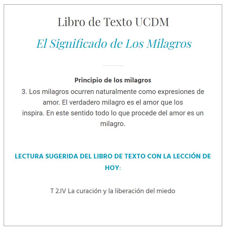 UCDM Leccion 16