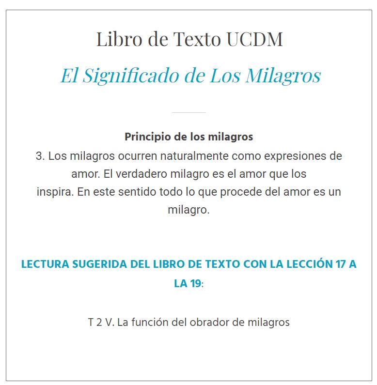 UCDM Leccion 17