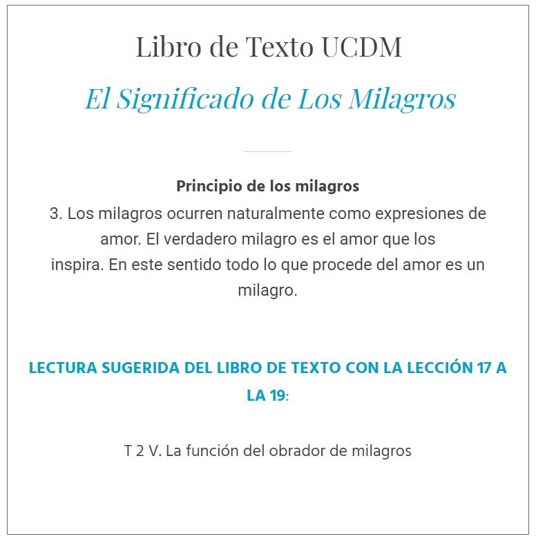 UCDM Lección 18