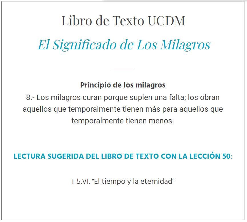 UCDM Lección 51